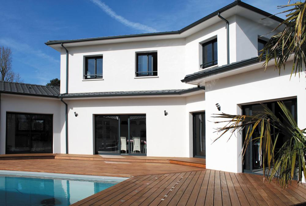 la maison moderne et prestige igc construction. Black Bedroom Furniture Sets. Home Design Ideas