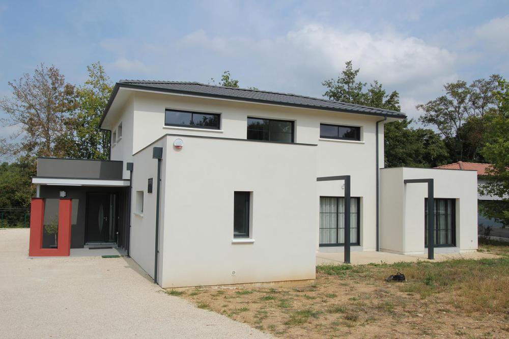 la maison cubique et contemporaine igc construction. Black Bedroom Furniture Sets. Home Design Ideas