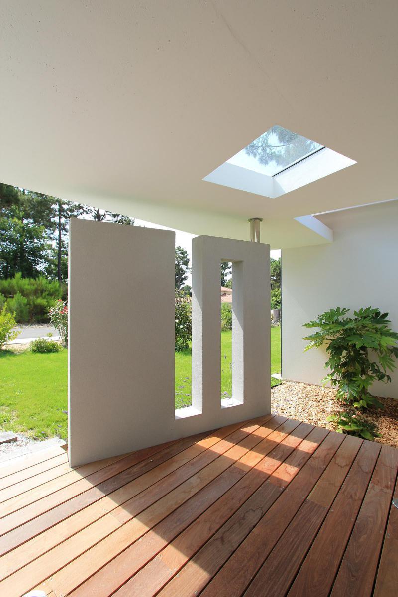 Porche D Entrée Maison Contemporaine maison gaïa élégante et contemporaine | igc construction