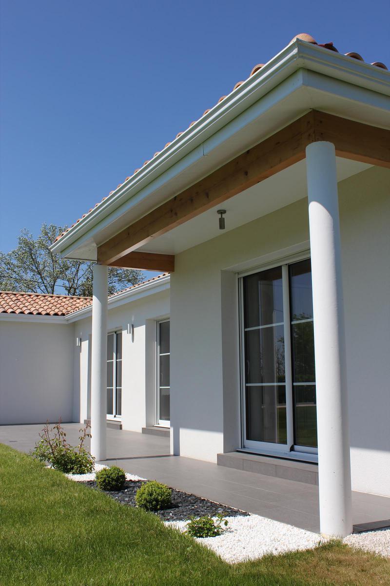 La maison lumineuse et contemporaine igc construction for Construction contemporaine