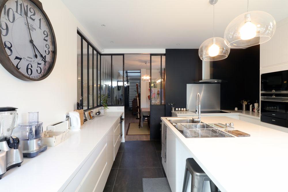 A Bordeaux, une belle maison de ville contemporaine | IGC Construction