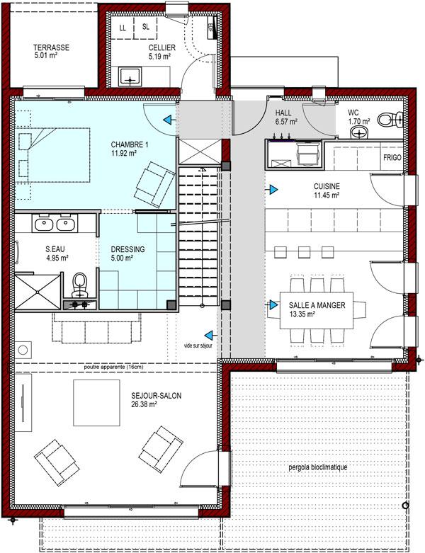 Plans De Maisons IGC Construction - Des plans des maisons modernes