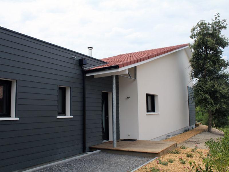 Une maison contemporaine dans les landes igc construction for Constructeur maison landaise