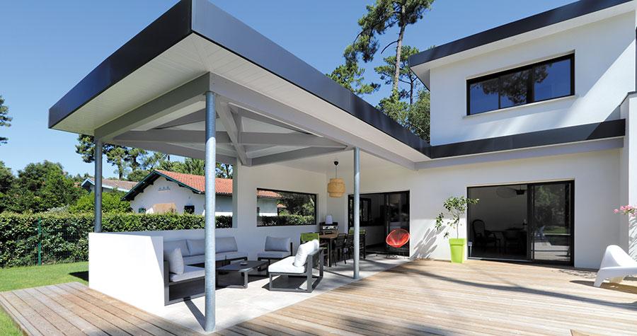 Maison contemporaine Hossegor : belle réalisation du constructeur de ...