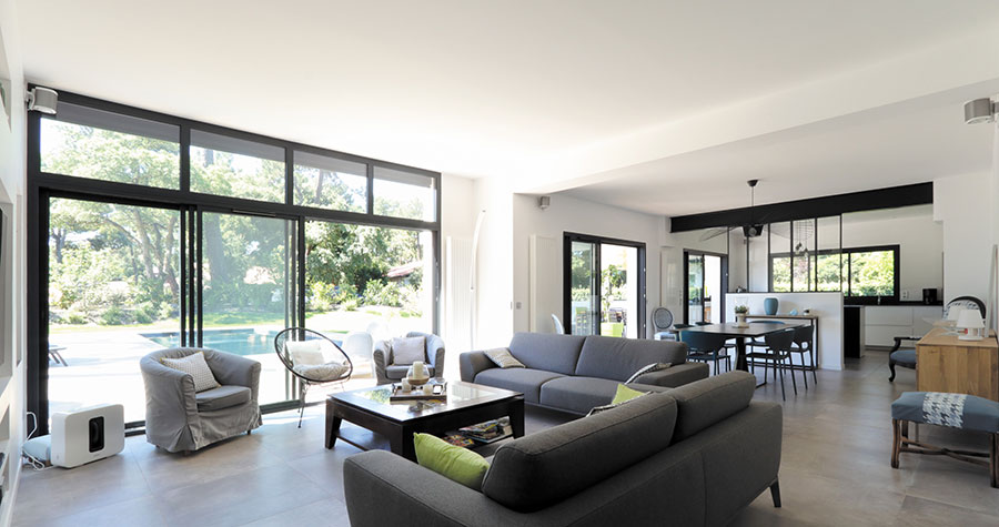 Maison contemporaine Hossegor : belle réalisation du ...