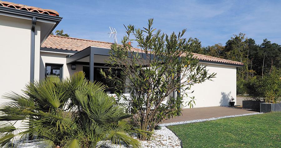 Une maison contemporaine et élégante au cœur du vignoble ...
