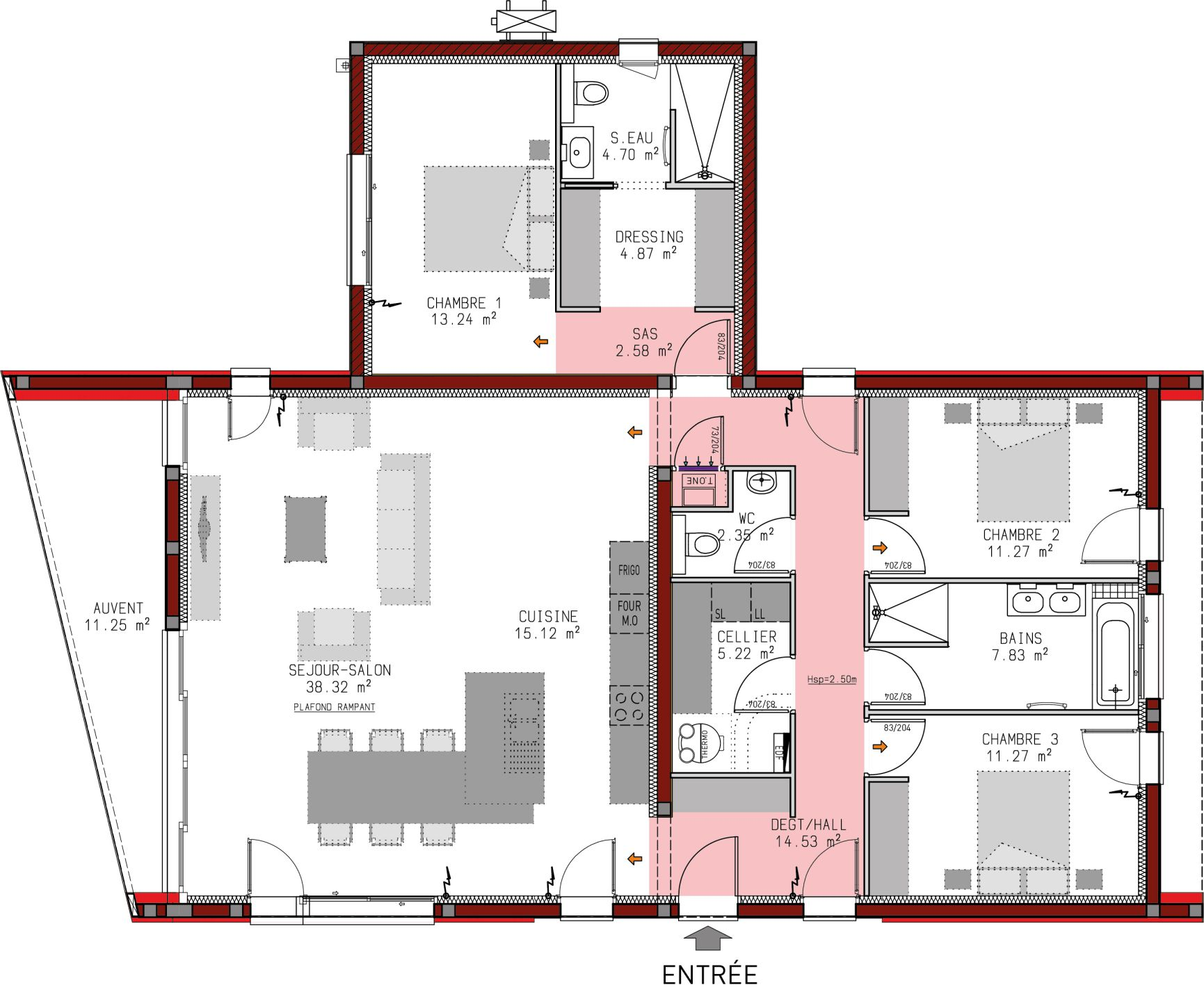 Plan De Maison Moderne plans de maisons | igc construction
