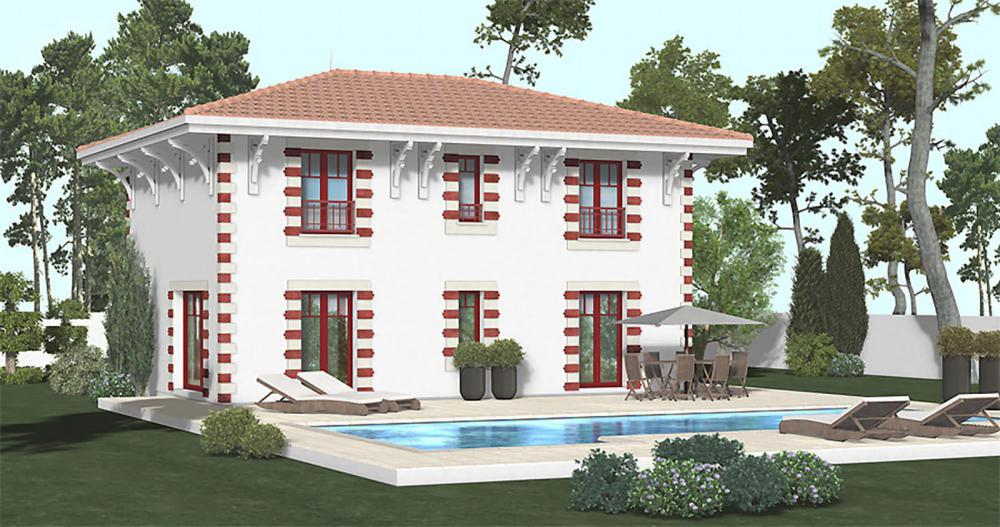 Maison Bastide Arcachonnaise Igc Construction