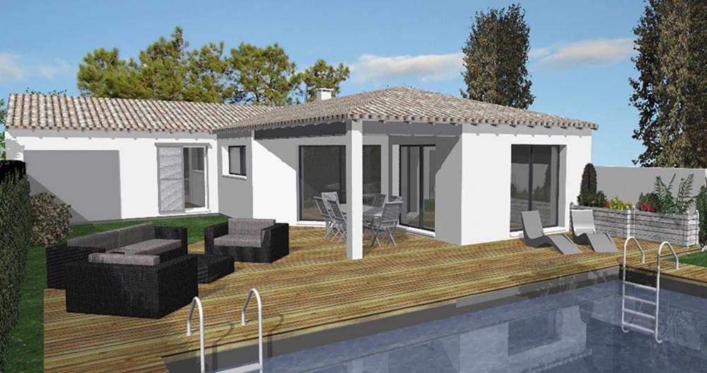 maison en L Charente-Maritime  IGC Construction