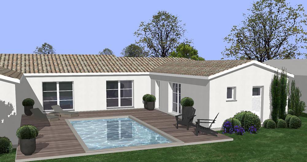 maison en U Charente-Maritime | IGC Construction - Maison En U