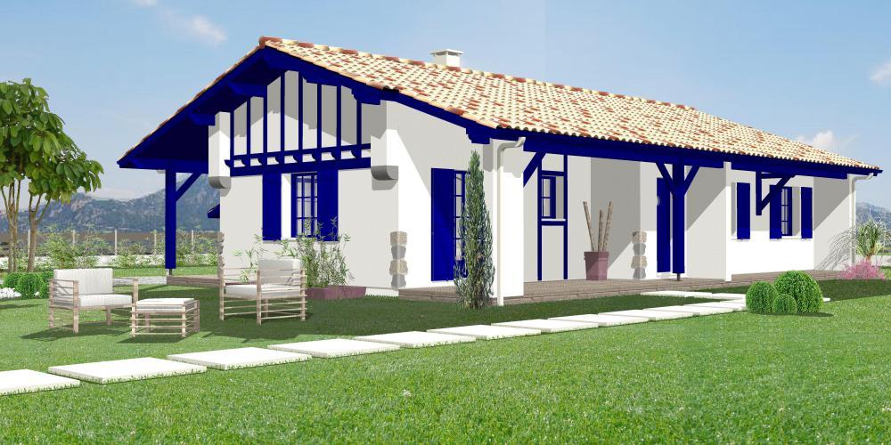 Maison ainhoa igc construction for Constructeur maison basque