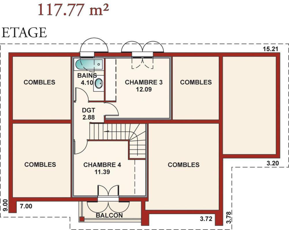 Plans de maisons igc construction - Exemple de plan de construction de maison gratuit ...