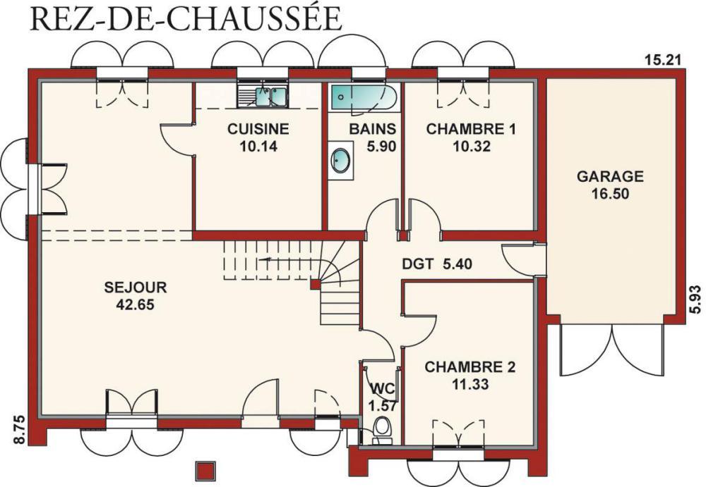 plan de maison basque
