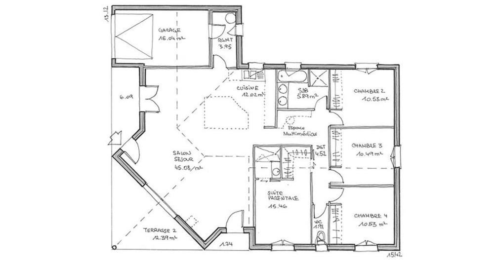 Maison ba a lambrequins igc construction for Des traditions de conception des plans de maison