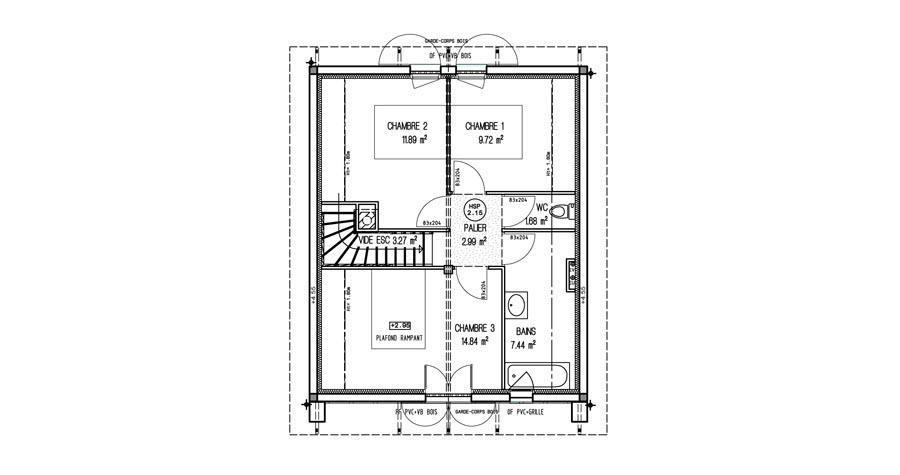 plans chateau de maisons laffitte pdf
