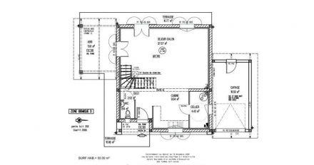 Plans de maisons igc construction for Plan maison garage a droite