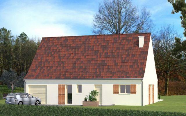 maison neuve avec terrain rignac lot 46 igc construction. Black Bedroom Furniture Sets. Home Design Ideas