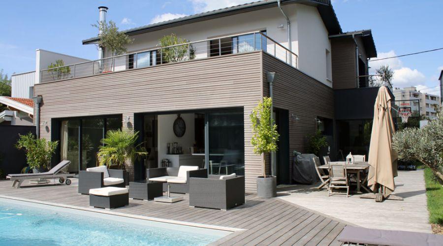 Constructeur maison bois contemporaine bordeaux ventana blog - Maison contemporaine bordeaux ...