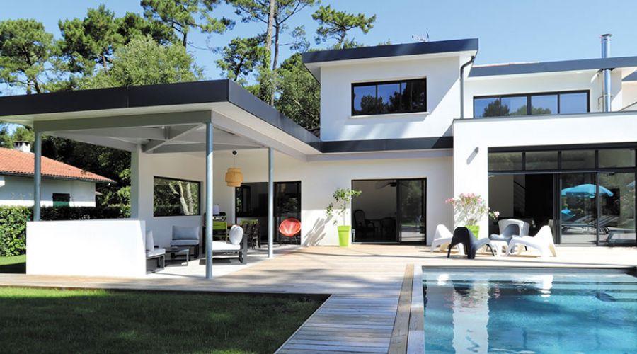 Maison contemporaine Hossegor : belle réalisation du ...